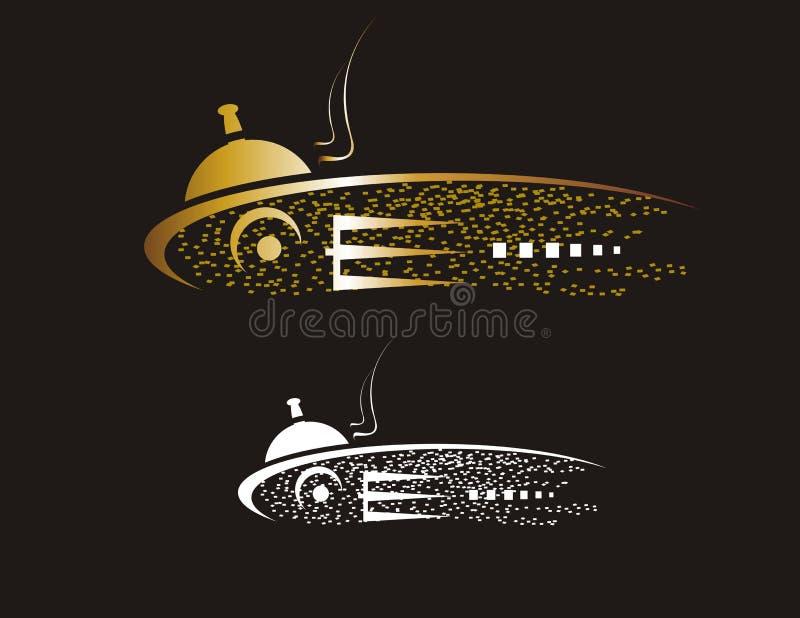 Download Seafood emblem stock image. Image of design, gold, decorative - 28732133