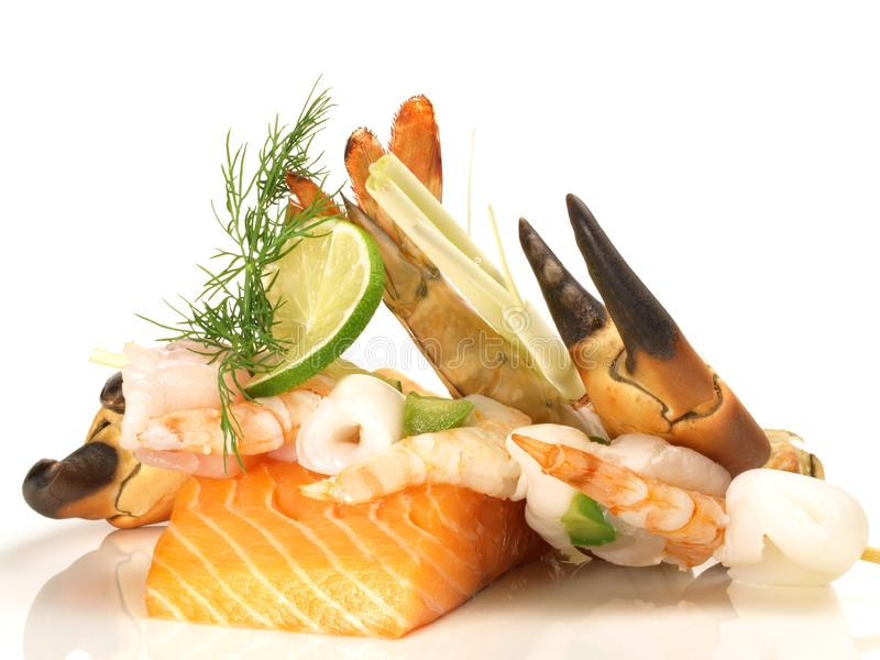 Seafood and Fish stock images