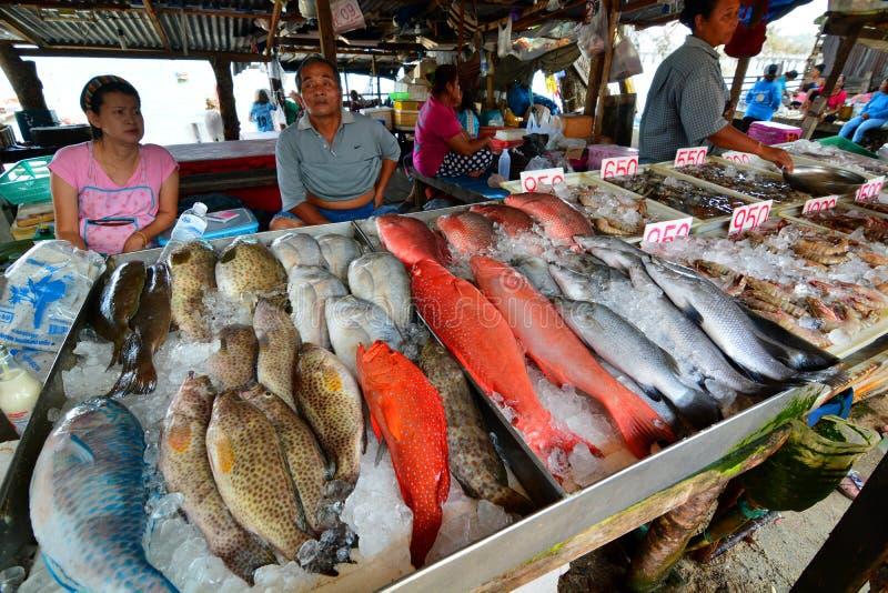 Seafood market rawai phuket thailand editorial stock for Bud s fish market