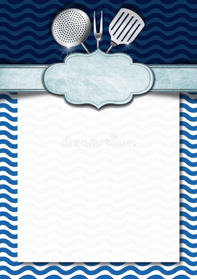 Seafood Menu Template Stock Illustration Illustration