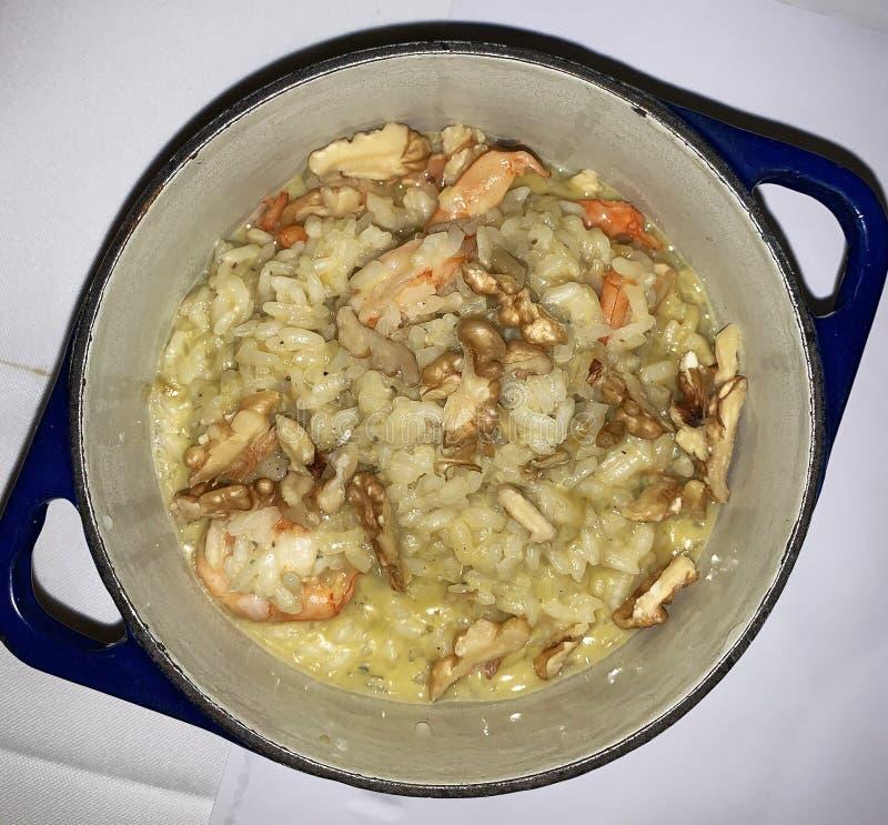 Seafood Moqueca. Typical rag of Bahia cuisine stock photography