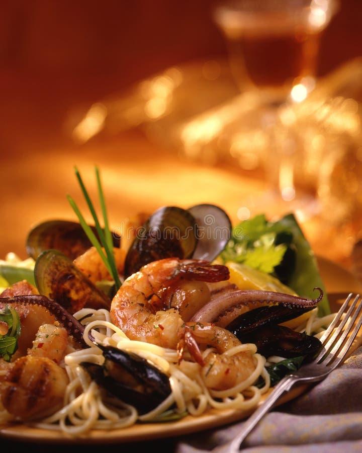 Free Seafood Pasta Royalty Free Stock Photo - 11305835