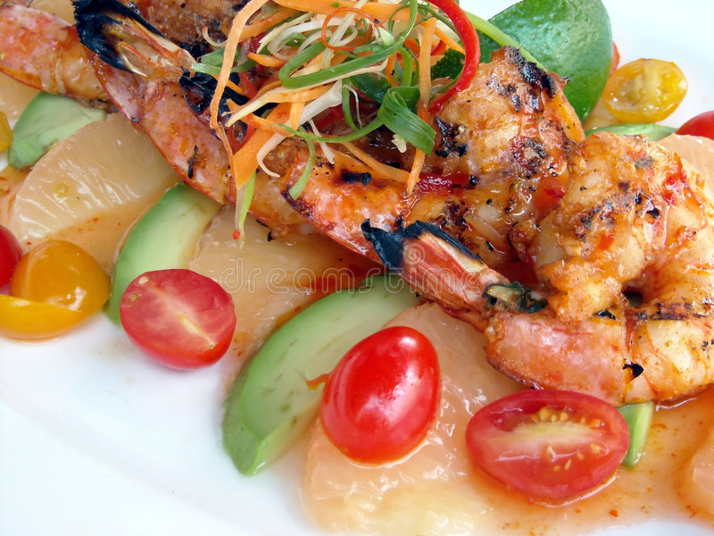 Download Seafood Plate stock image. Image of seafood, dining, mexican - 4861065