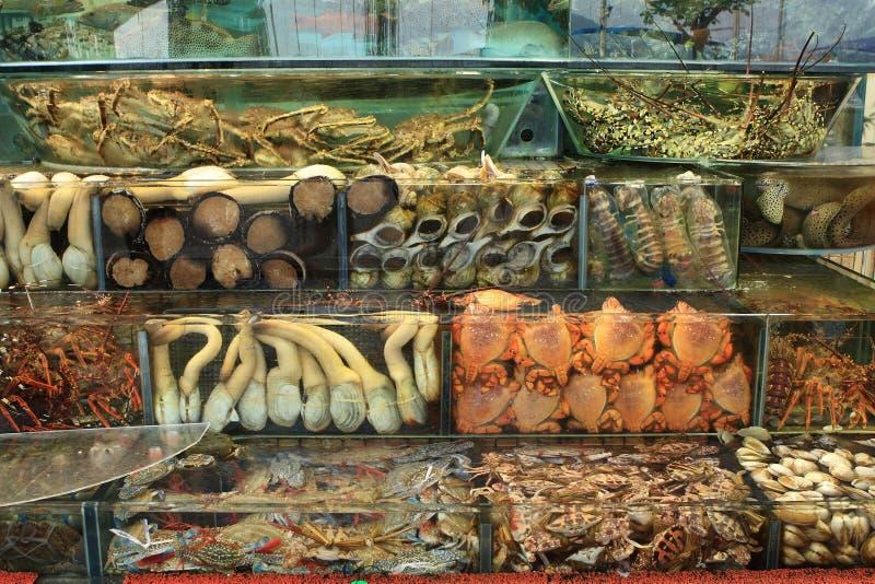 Download Seafood restaurant stock image. Image of lemon, lettuce - 6436487