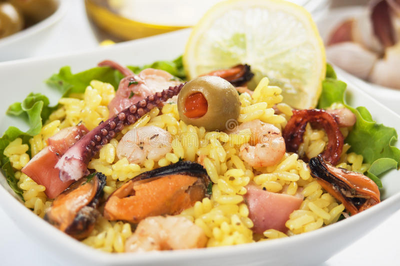 Download Seafood Risotto Royalty Free Stock Photo - Image: 21211005