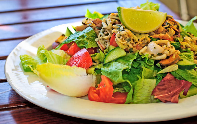 Download Seafood Salad Royalty Free Stock Image - Image: 11190816