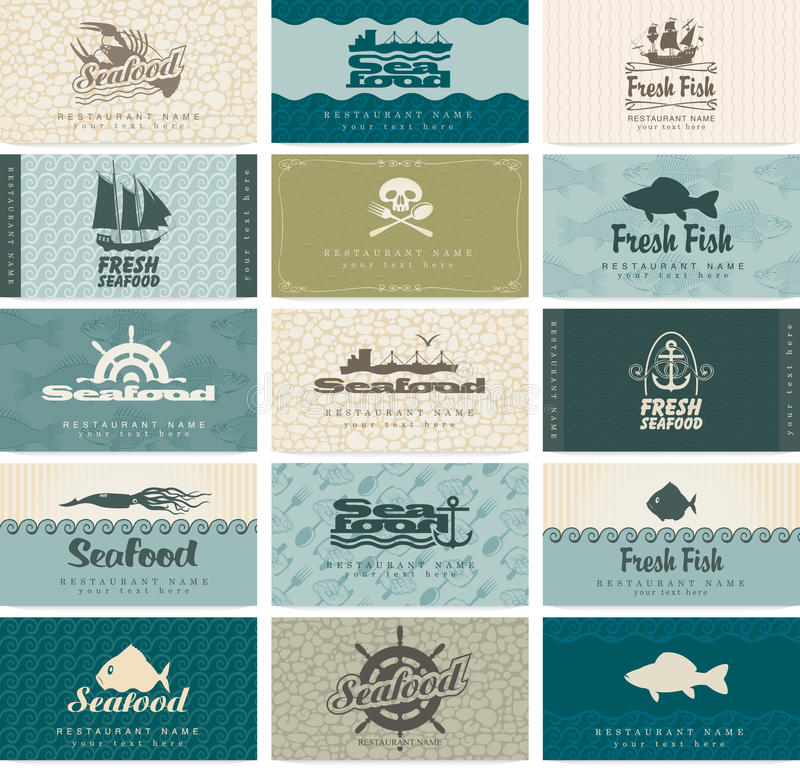Download Seafood stock vector. Illustration of jolly, boat, ocean - 32044344