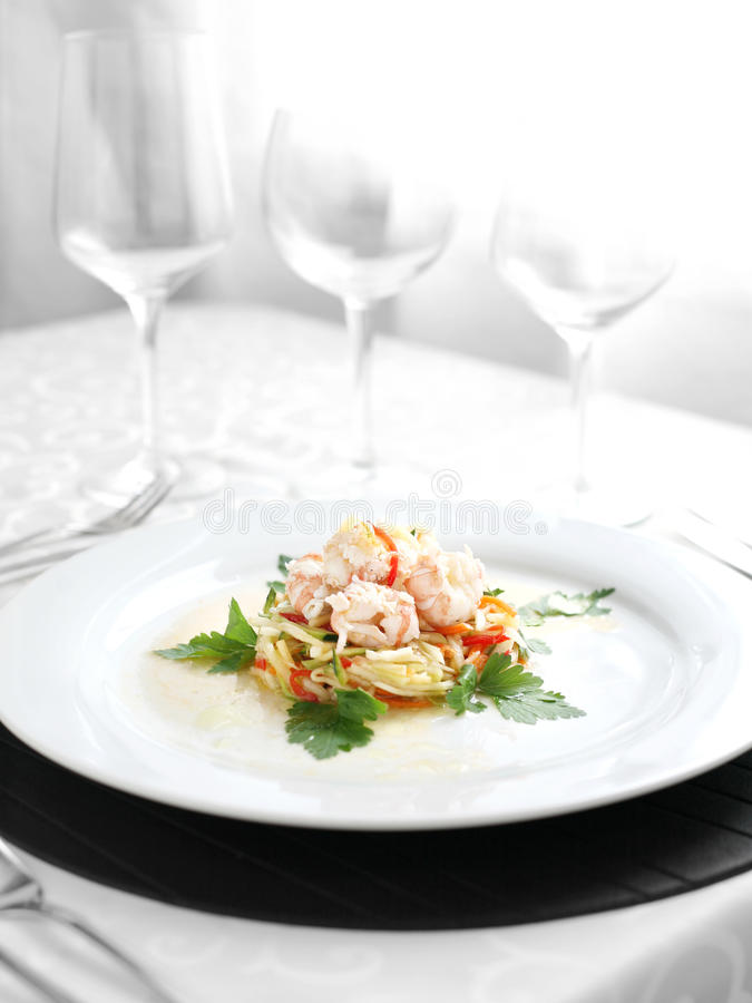 Seafood spacialty royalty free stock image