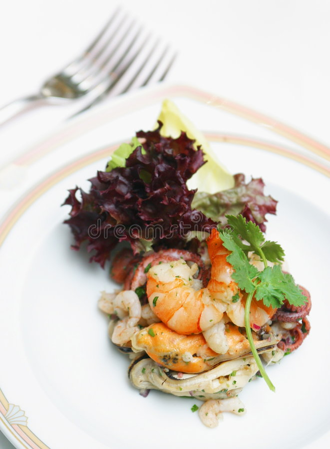 Download Seafoods stock image. Image of calorie, diet, cover, place - 118169