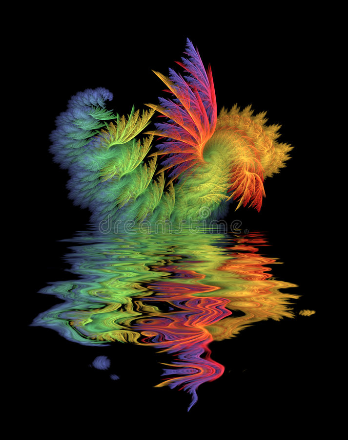 Download Seaform 2 stock illustration. Image of fractal, mathematics - 399619