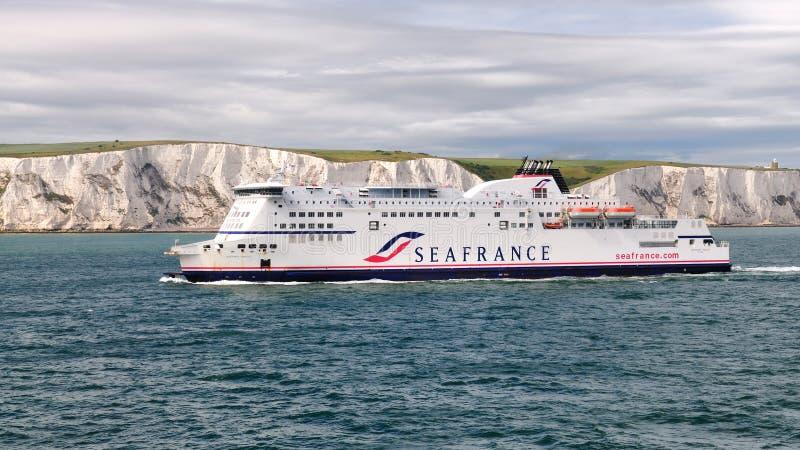seafrance πορθμείων προσέγγισης &N στοκ εικόνες με δικαίωμα ελεύθερης χρήσης