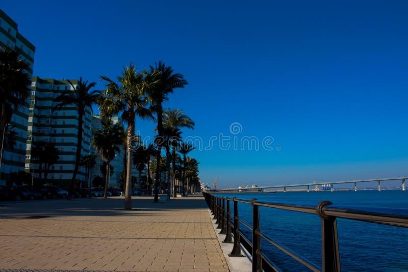 seafront royaltyfria bilder