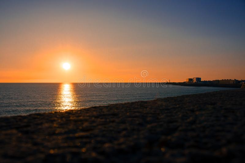 seafront royalty-vrije stock foto