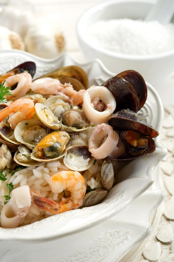 Free Seafruits Risotto Stock Photo - 14891380
