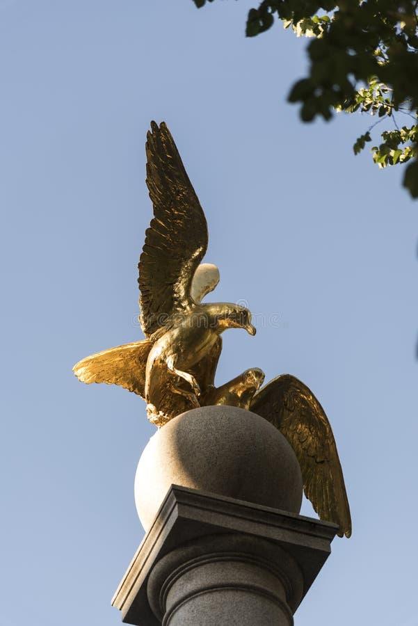 Free Seagull Monument Temple Square Salt Lake City. Royalty Free Stock Photo - 133763495