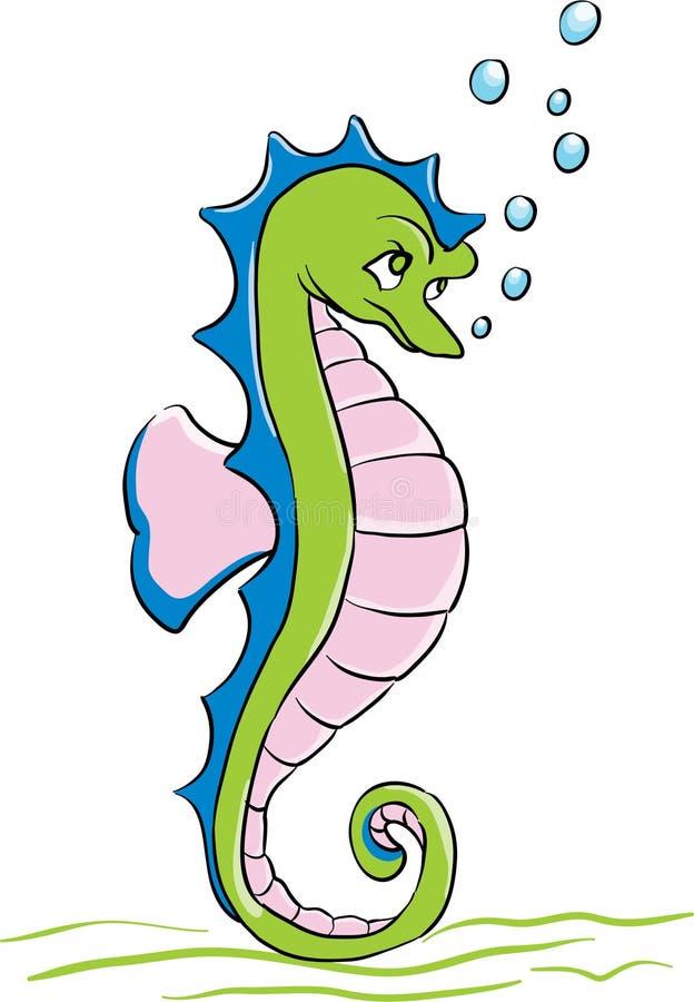 Seahorse stock de ilustración