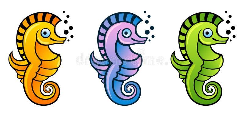 Seahorse vector illustratie