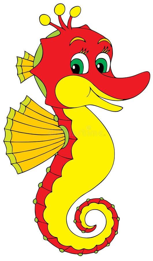 Seahorse иллюстрация штока