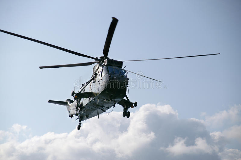 Sea King Helicopter stock photography