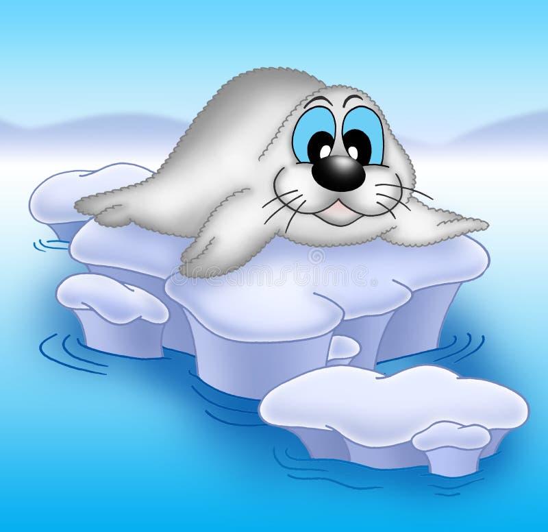 Download Seal stock illustration. Image of illustration, cute, smiling - 5265594