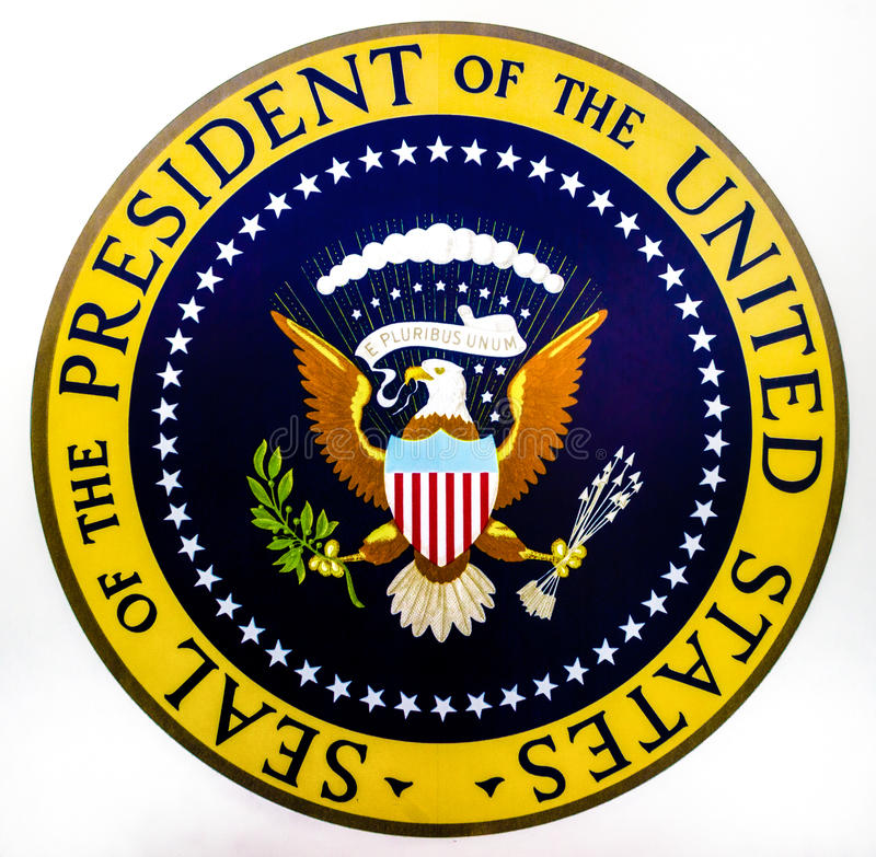 seal of the president of the united states editorial photography rh dreamstime com Printable Presidential Seal Make Your Own Presidential Seal