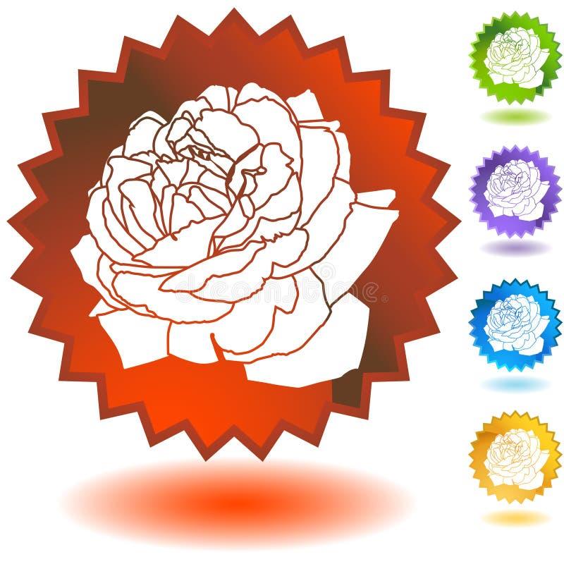 Download Seal Set - Rose Bloom stock vector. Image of handmade - 9990551