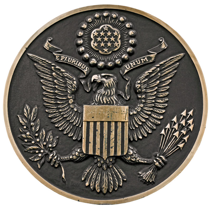 Download Seal of the us stock photo. Image of president, authority - 31487674