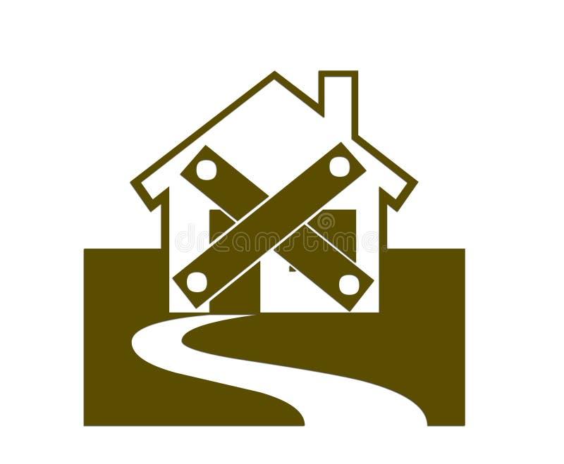 Download Sealed stock illustration. Image of house, real, demolishment - 2681699