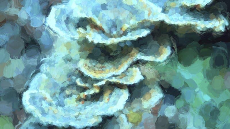 Sealife abstrakt bakgrund royaltyfri illustrationer
