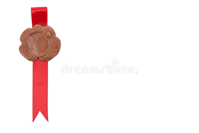 Download Sealing wax with ribbons stock image. Image of render - 18325557