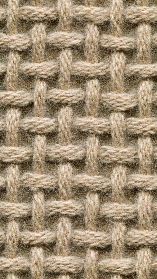 Seamlees textur av woolen tyg royaltyfri foto