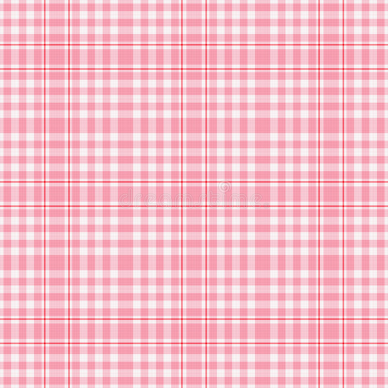 Free Seamles Pink White Plaid Royalty Free Stock Photos - 1905228