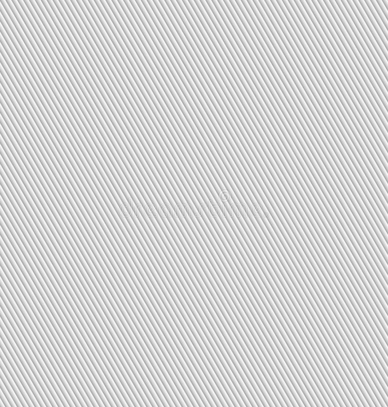 Seamless abstract background - corrugated strips. Color gray - middle tone. 3D effect. Vector illustration royalty free illustration