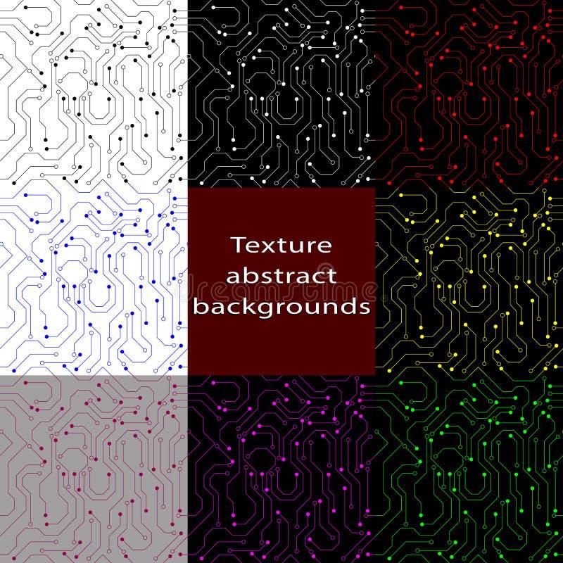 Seamless abstract background. Vector illustration. stock illustration