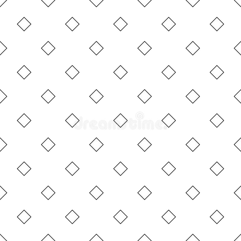 Seamless abstract black and white diagonal square pattern background - simple halftone geometrical vector illustration vector illustration