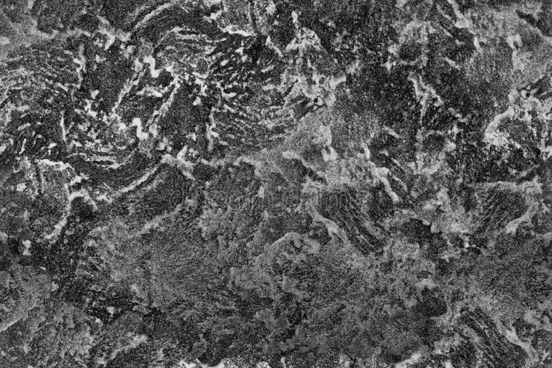Seamless abstract black and white textural pattern royalty free stock photos