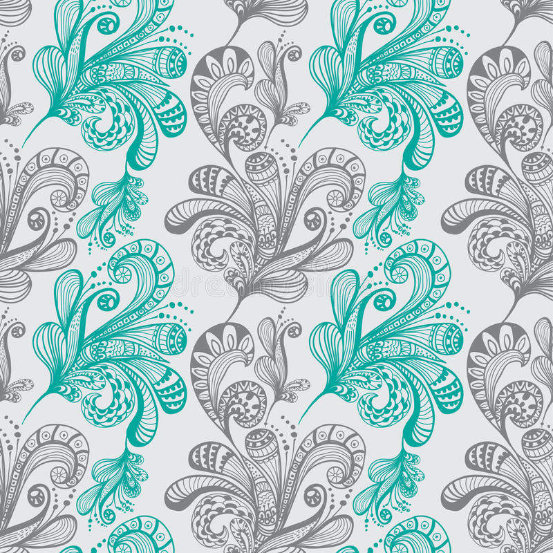 Download Seamless Abstract Floral Background Royalty Free Stock Photography - Image: 27406827