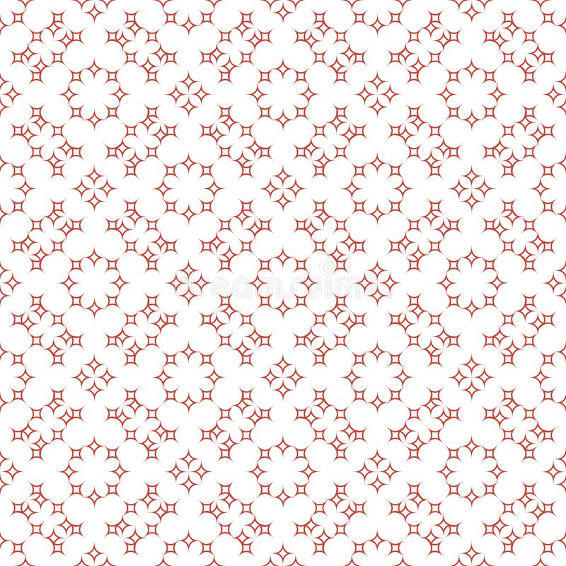 Seamless abstract floral patterns. Geometrical vintage ornament. vector illustration