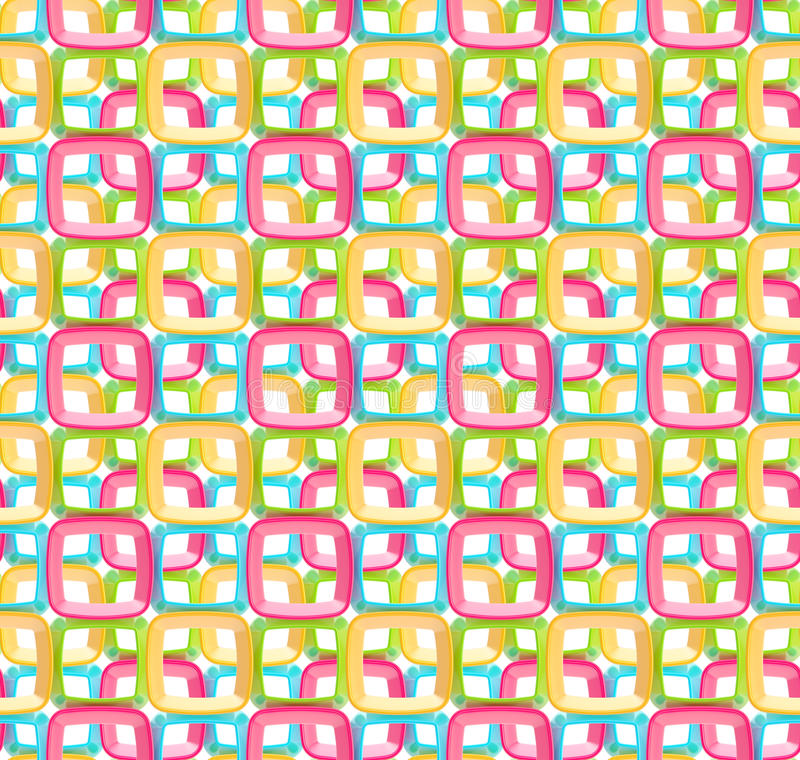 Download Seamless Abstract Geometric Background Stock Illustration - Illustration: 24683101