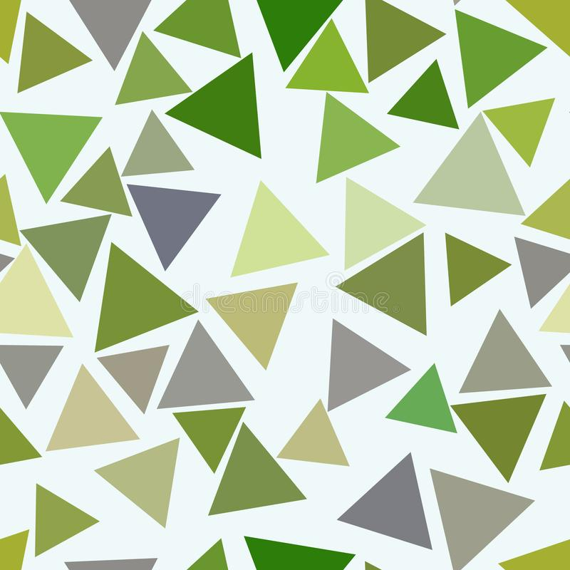 Seamless abstract geometric background with shape of triangle pattern. Cover, template, concept & surface. royalty free illustration