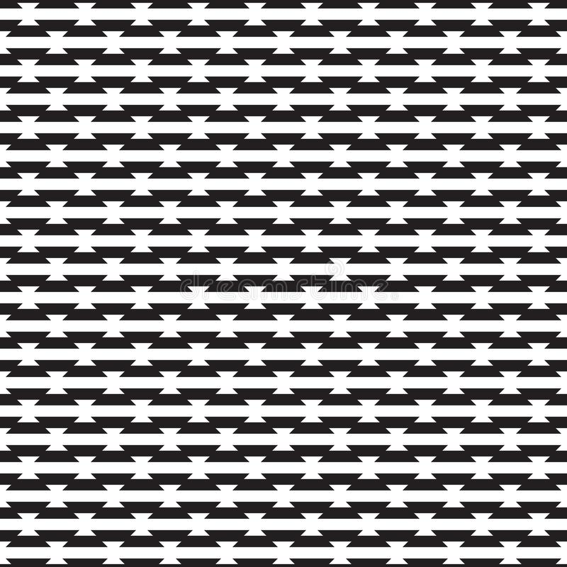 Seamless abstract geometric offset tile pattern background vector illustration
