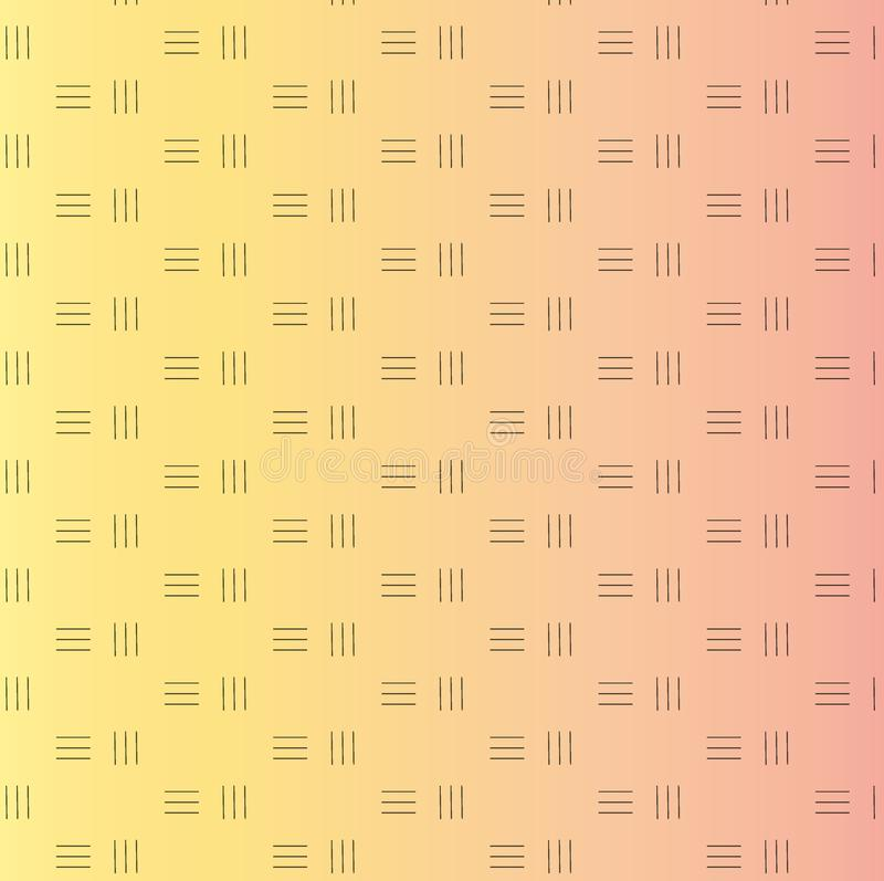 Diagonal lines pattern. Repeat straight stripes texture background royalty free illustration