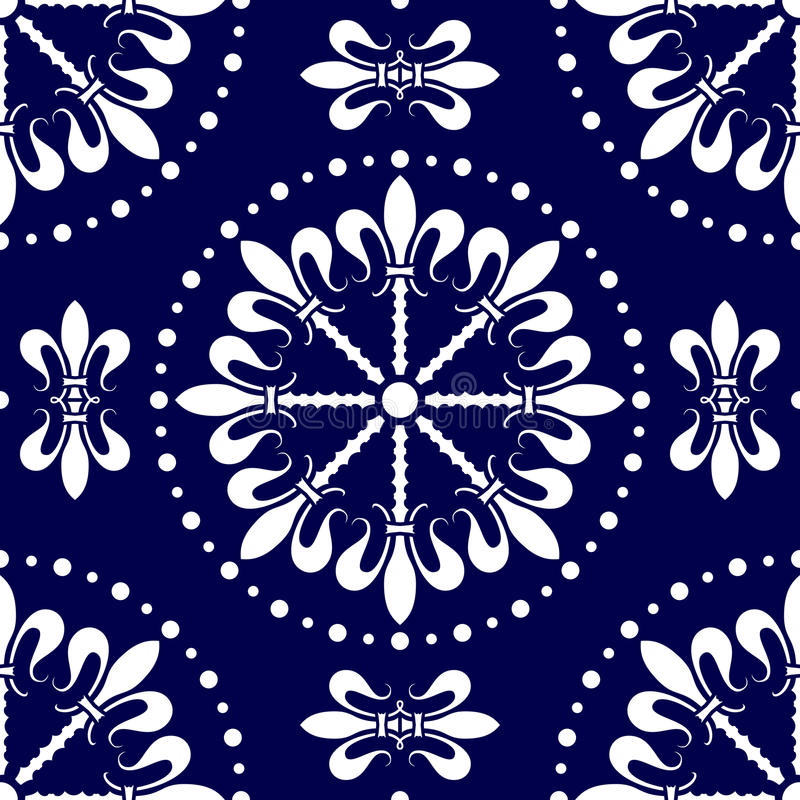 Seamless Abstract Pattern [1] Royalty Free Stock Photography