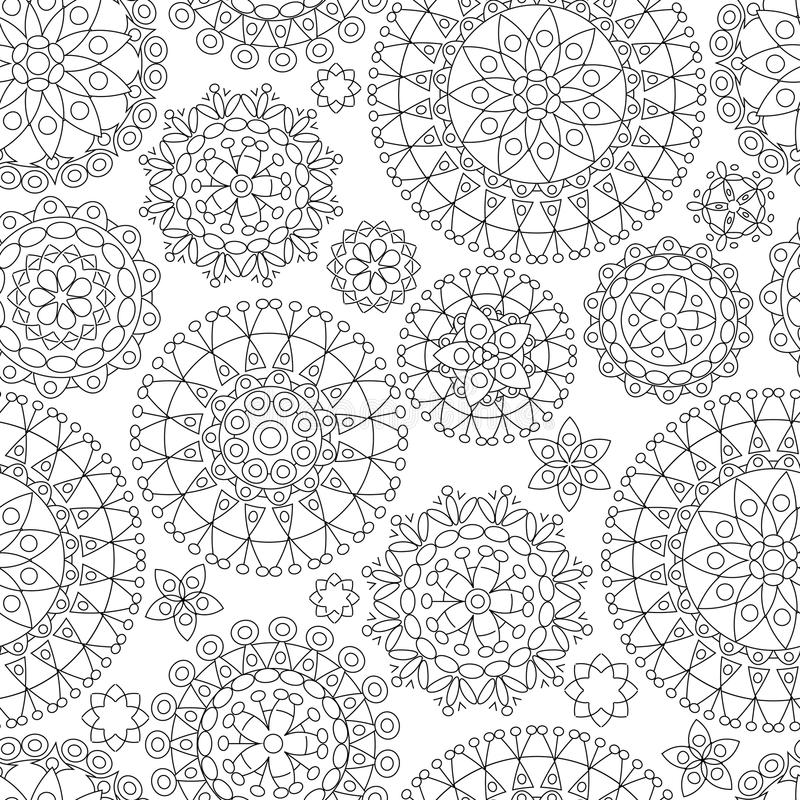 Download Seamless abstract pattern stock vector. Image of artwork - 25454243