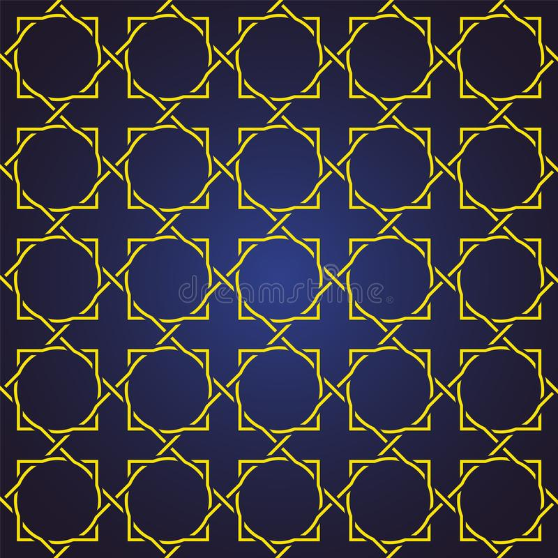 Seamless and abstract pattern background in arabic style, can use for ramadan kareem and eid mubarak topic stock image