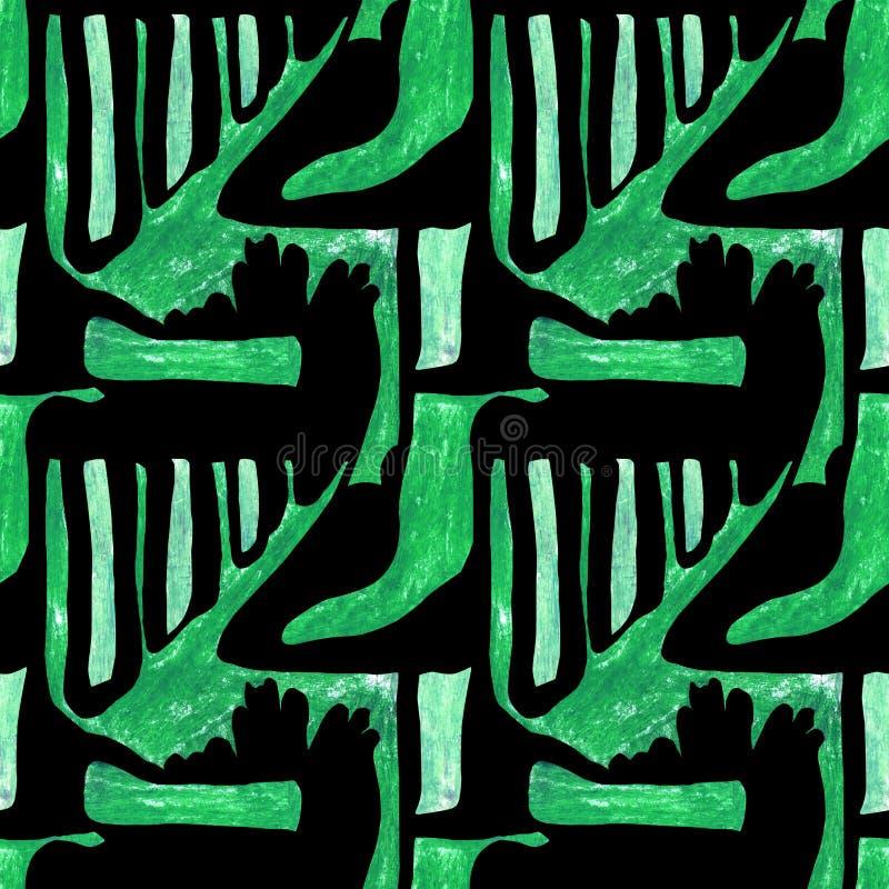 Seamless abstract pattern vector illustration
