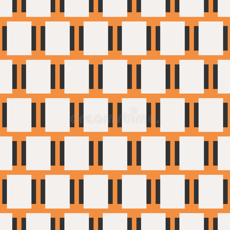 Seamless Abstract Pattern from Plus Cross Symbols. Seamless abstract pattern created from repetition of plus cross symbols royalty free illustration