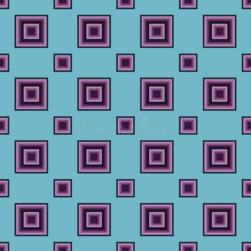 Seamless Abstract Pattern from Rectangles. Seamless abstract modern pattern created from rectangles stock illustration