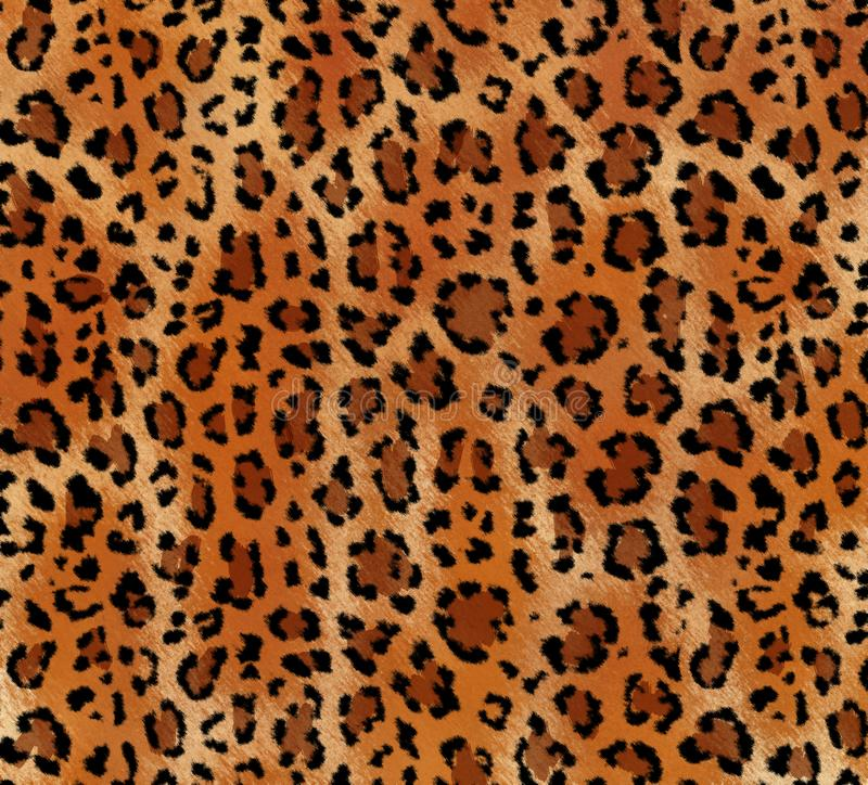 Seamless abstract pattern on a skin leopard texture, snake. royalty free stock photography