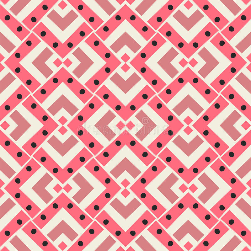 Seamless abstract pattern royalty free illustration